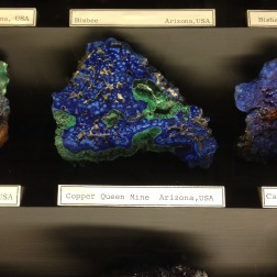 The coolest looking mineral in the Natural History Museum.