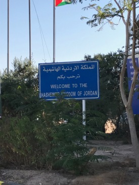 Crossing into Jordan